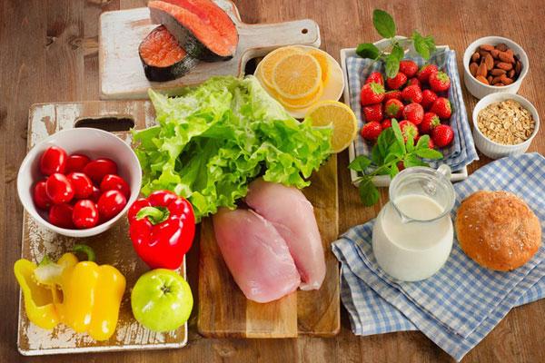 Áp dụng chế độ dinh dưỡng hợp lí, lành mạnh 1