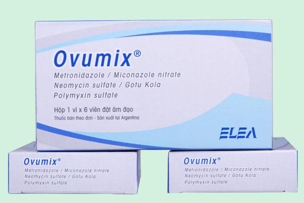 7. Thuốc đặt Ovumix 1