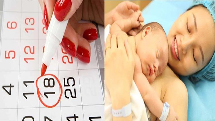 Cách tính ngày thụ thai để sinh con theo ý muốn 1