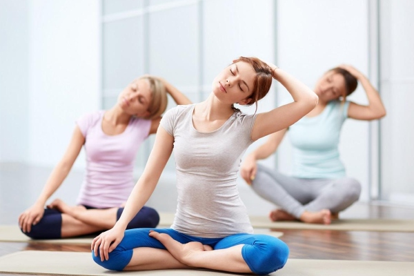 Tập yoga giúp tinh thần thư thái