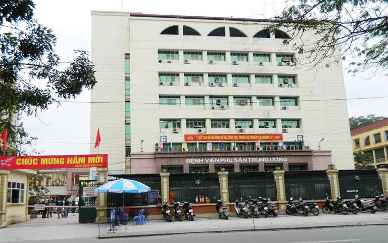 2.2. Bệnh viện Phụ sản trung ương 1