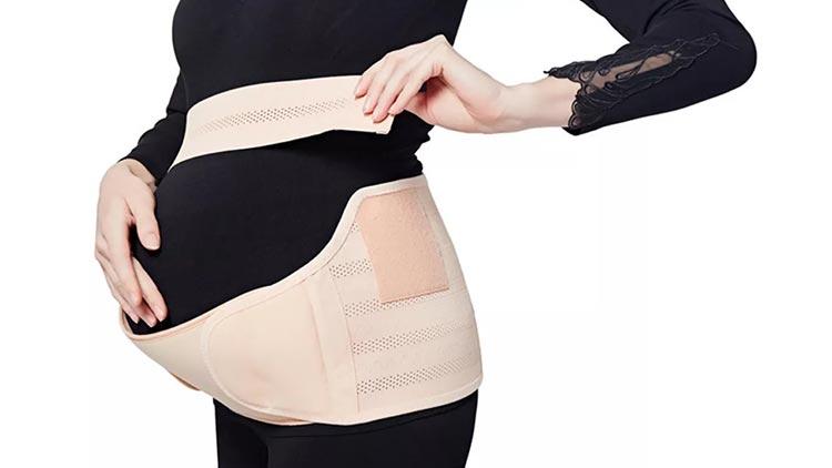 2- Sử dụng đai đỡ bụng bầu 1