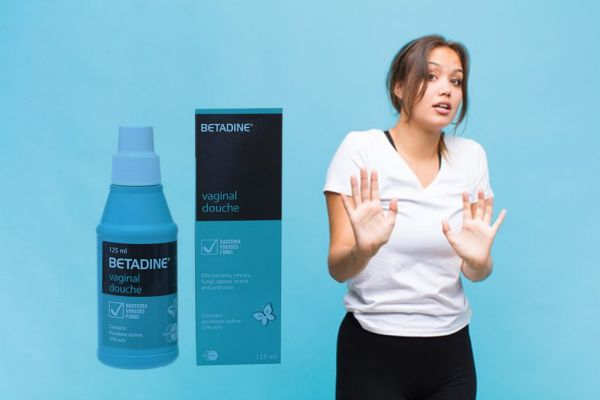 Cần lưu ý khi sử dụng betadine xanh rửa vùng kín