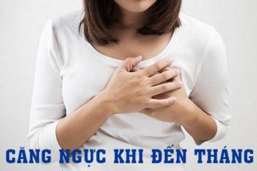 Những điều cần biết về tình trạng ngực căng khi đến tháng