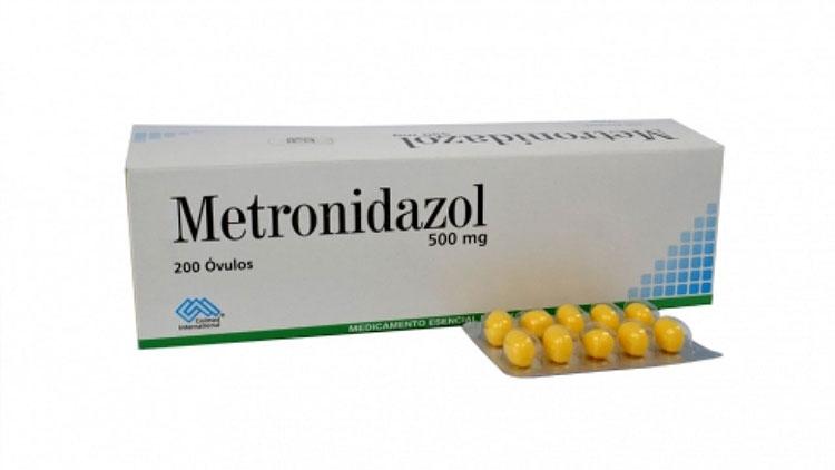 1- Thuốc trị viêm âm đạo Metronidazole 1
