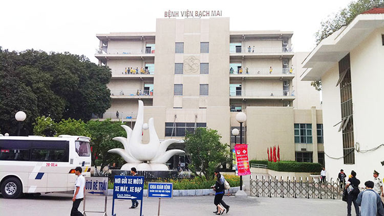 Bệnh viện Bạch Mai – Khu vực Hà Nội 1