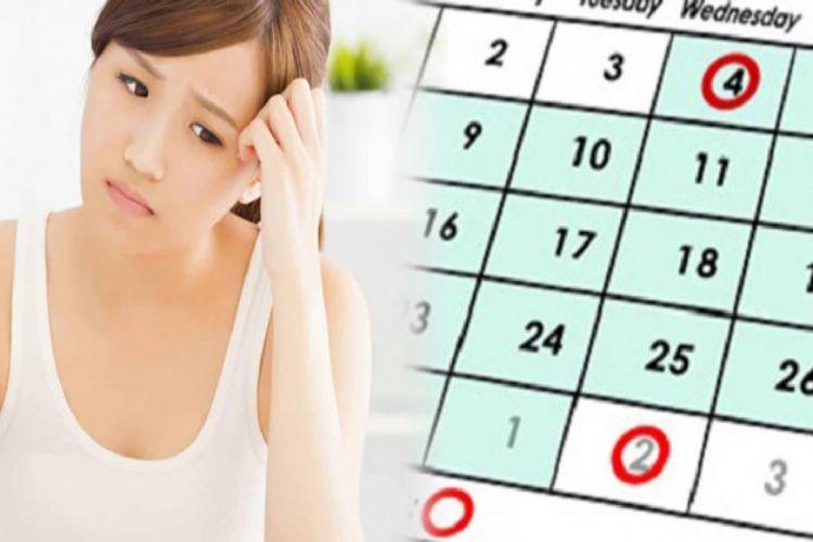 Rối loạn kinh nguyệt 1 tháng có 2 lần do stress hoặc hưng phấn quá độ 1