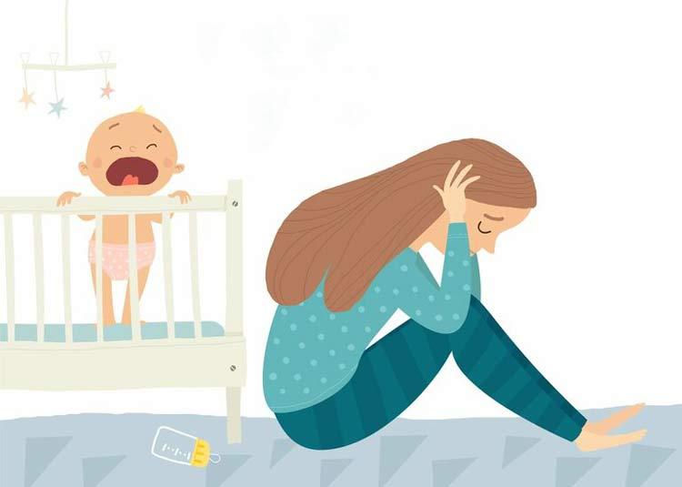 Tâm lý bất ổn sau sinh 1