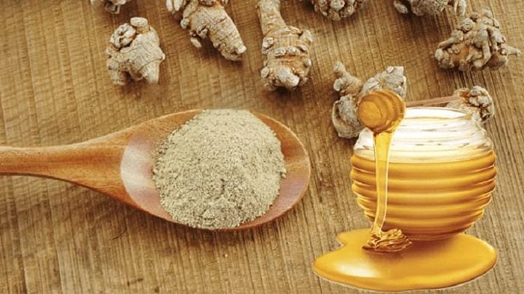 Bài thuốc 2: Bột tam thất kết hợp với mật ong rừng 1