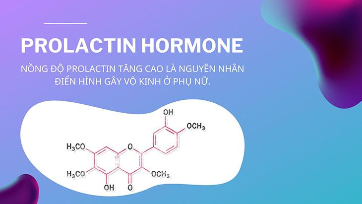 Do nồng độ hormone Prolactin tăng cao 1